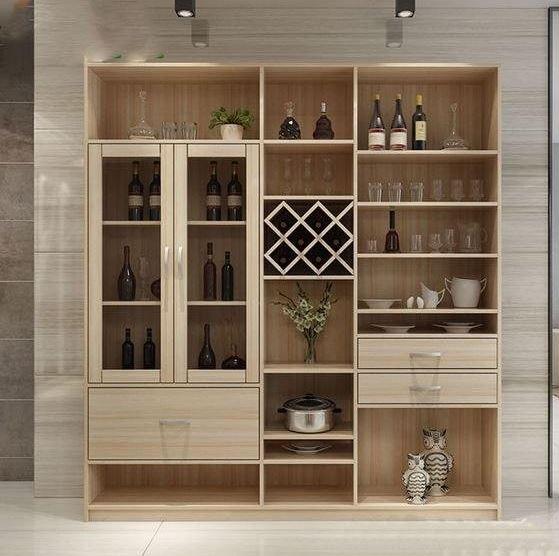 tủ rượu âm tường