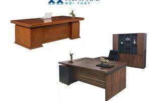 bàn làm việc gỗ công nghiệp