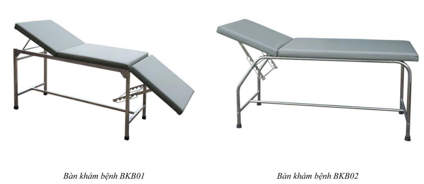 Bàn khám bệnh BKB01 - BKB02