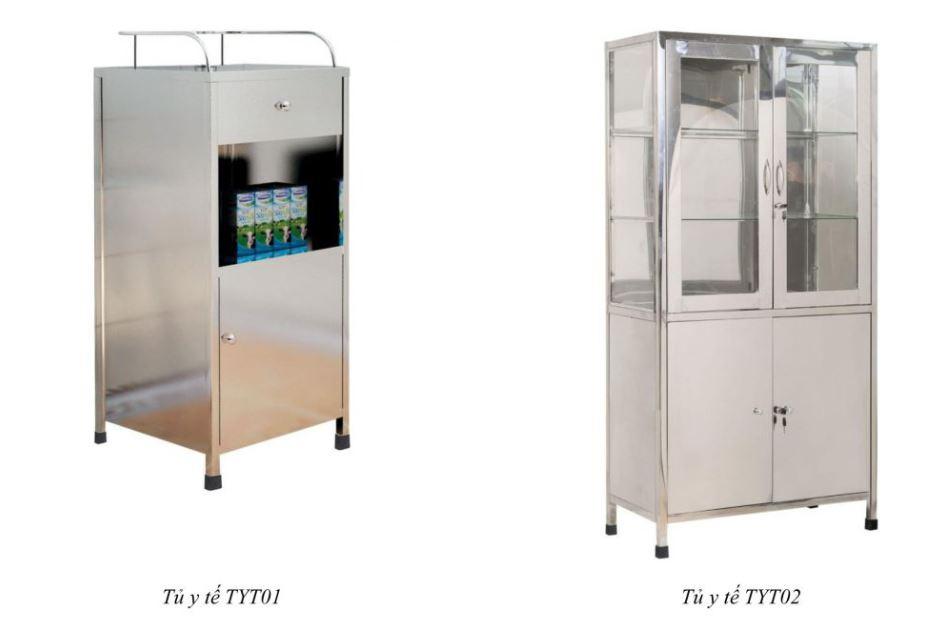tủ y tế TYT01 - TYT02