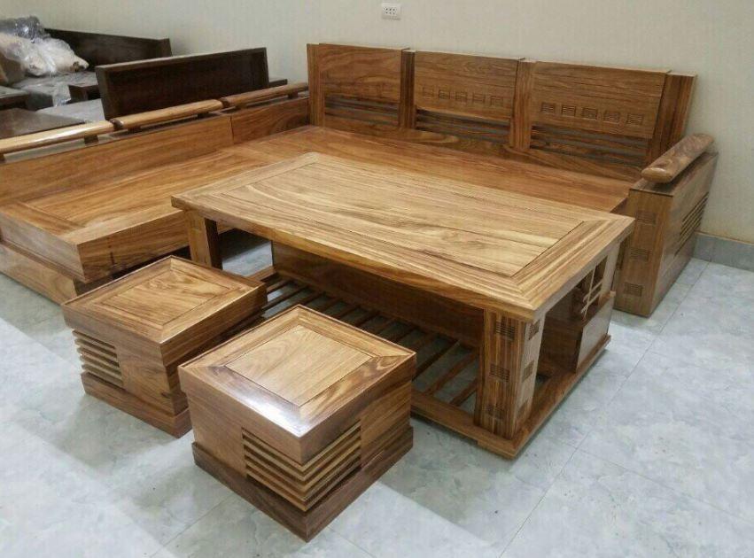 bàn ghế phòng khách đơn giản