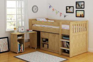 giường tầng kết hợp bàn học giá rẻ
