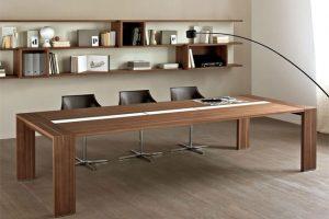 bàn phòng họp gỗ tự nhiên