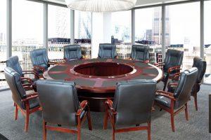 ghế gỗ phòng họp cao cấp